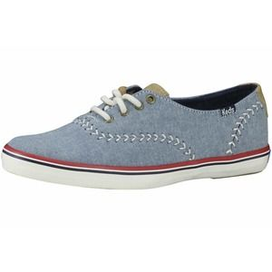 Keds Champion Pennant Canvas Blue Sneaker Shoes